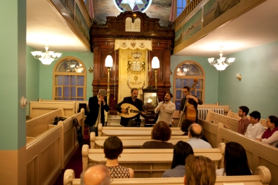 Photo by Kiran Ambwani - 2013 (www.kiranambwani.com), CD Release at Bagg St. Shul